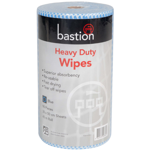 bastion blue heavy duty wipes