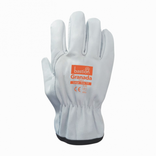 bastion granada cut 5 leather rigger glove