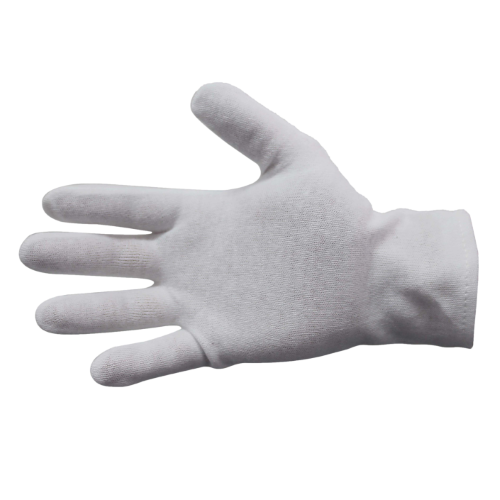 bastion hemmed cuff knitted glove