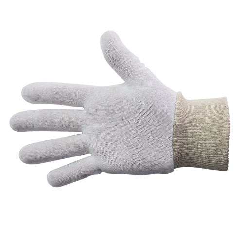 bastion knitted cuff cotton glove
