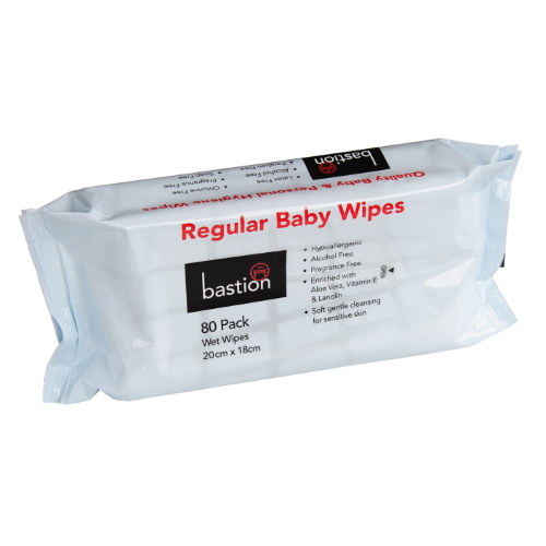 Bastion regular baby wipes