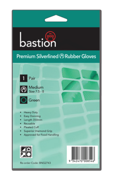 bastion premium sliverlined gloves packet