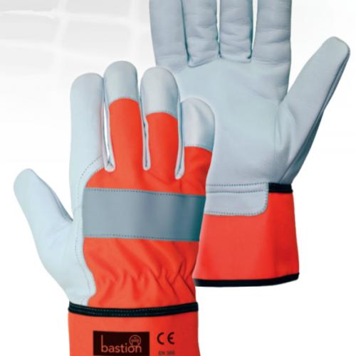 Bastion Navarro High Viz Leather Riggers