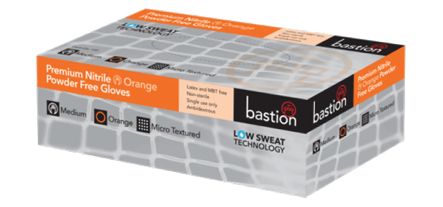 Bastion Premium Nitrile Orange