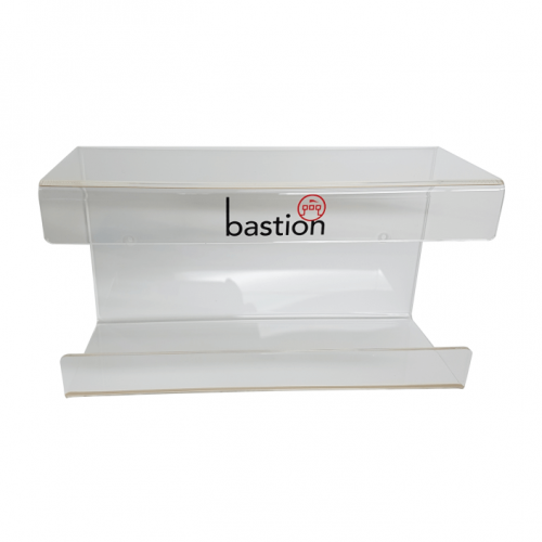 Bastion Acrylic Glove Dispenser bracket