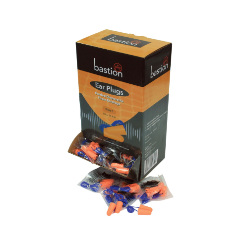 Bastion corded earplugs