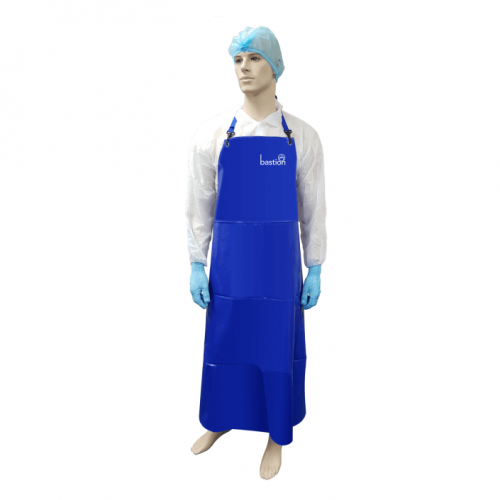 Bastion Blue PVC Apron