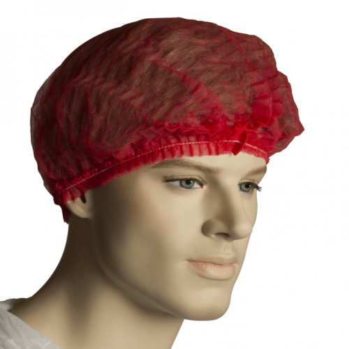 Bastion Red Crimped Beret