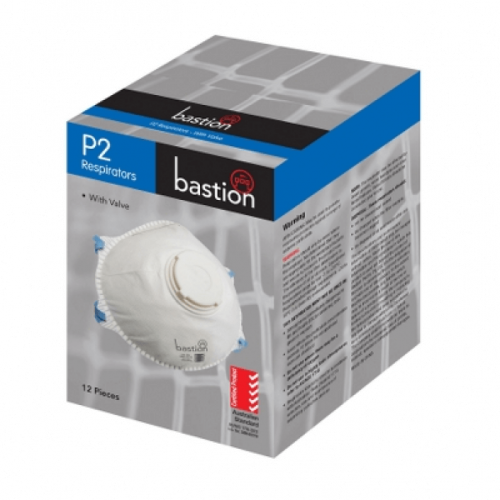 Bastion P2 Respirators with valve