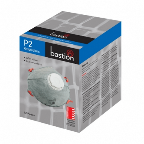 Bastion P2 Respirator - Valve & Active Carbon