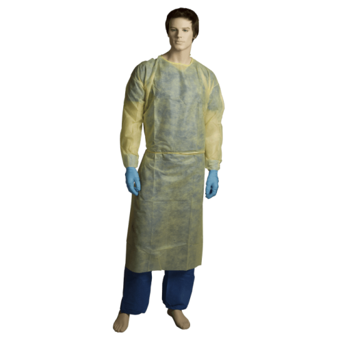 Bastion PP/PE Fluid Resistant Isolation Gown