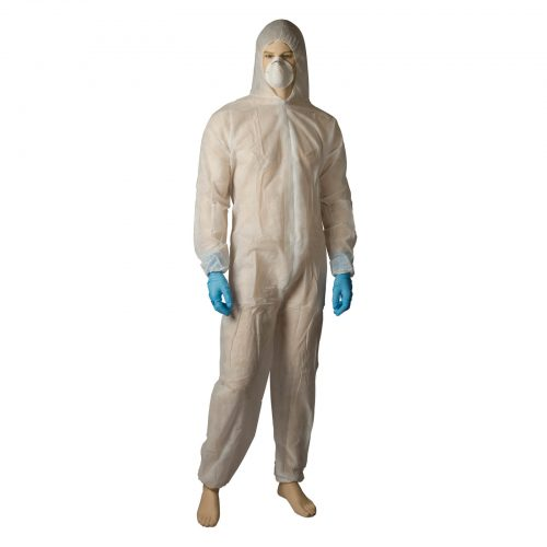Bastion PP Coverall White