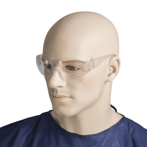 Bastion clear safety glasses