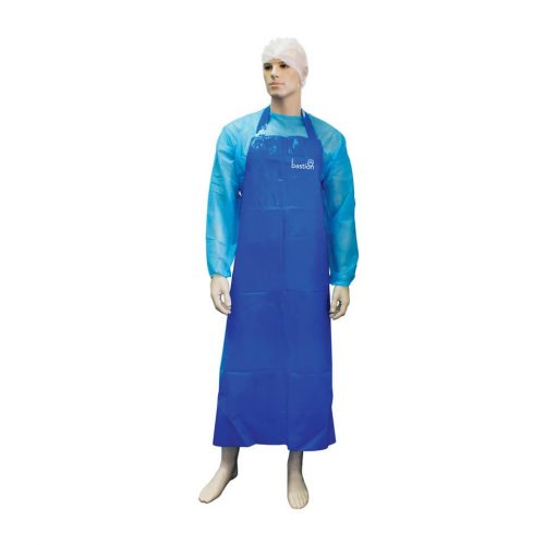 Bastion Blue TPU Apron