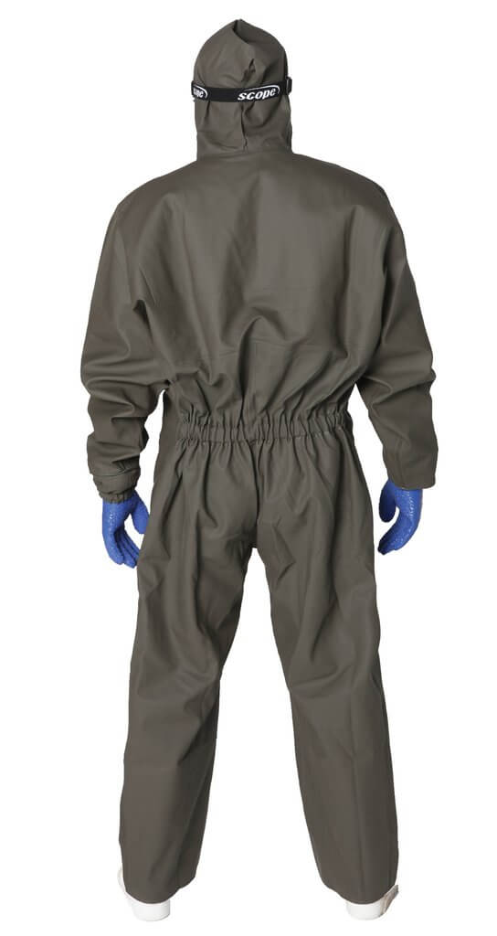 guy cotten Isocomb one piece spray suit - back