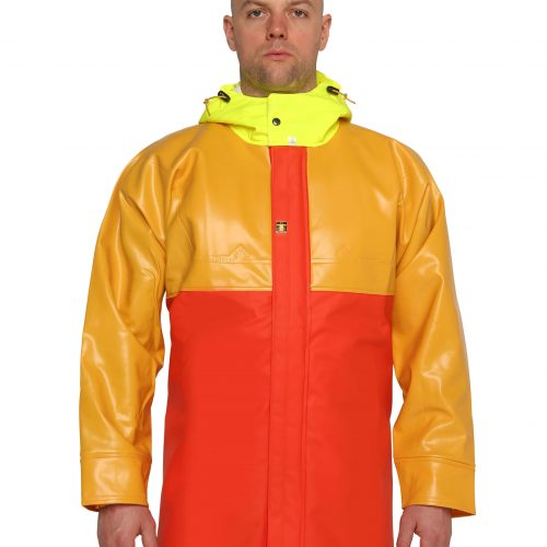 guy cotten isopro heavy duty jacket front