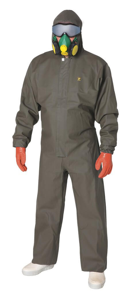 guy cotten Isocomb one piece spray suit - front