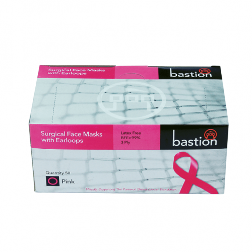 Bastion Surgical Face Mask Pink