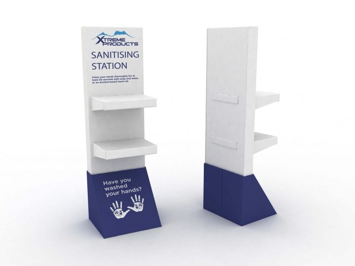Free standing Sanitising Station - Xtreme Products