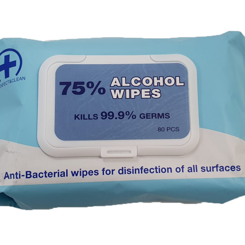Basiton 75% Alcohol Wipes Top