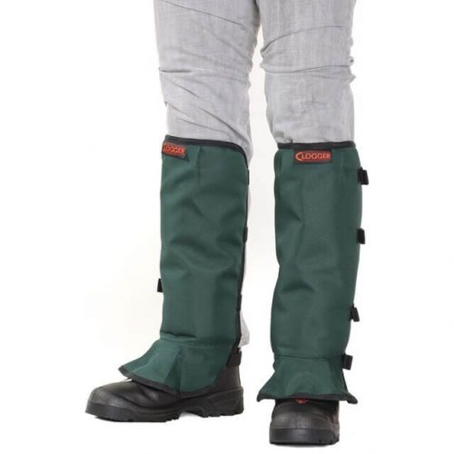 Clogger Brushcutting Chaps - Green Front