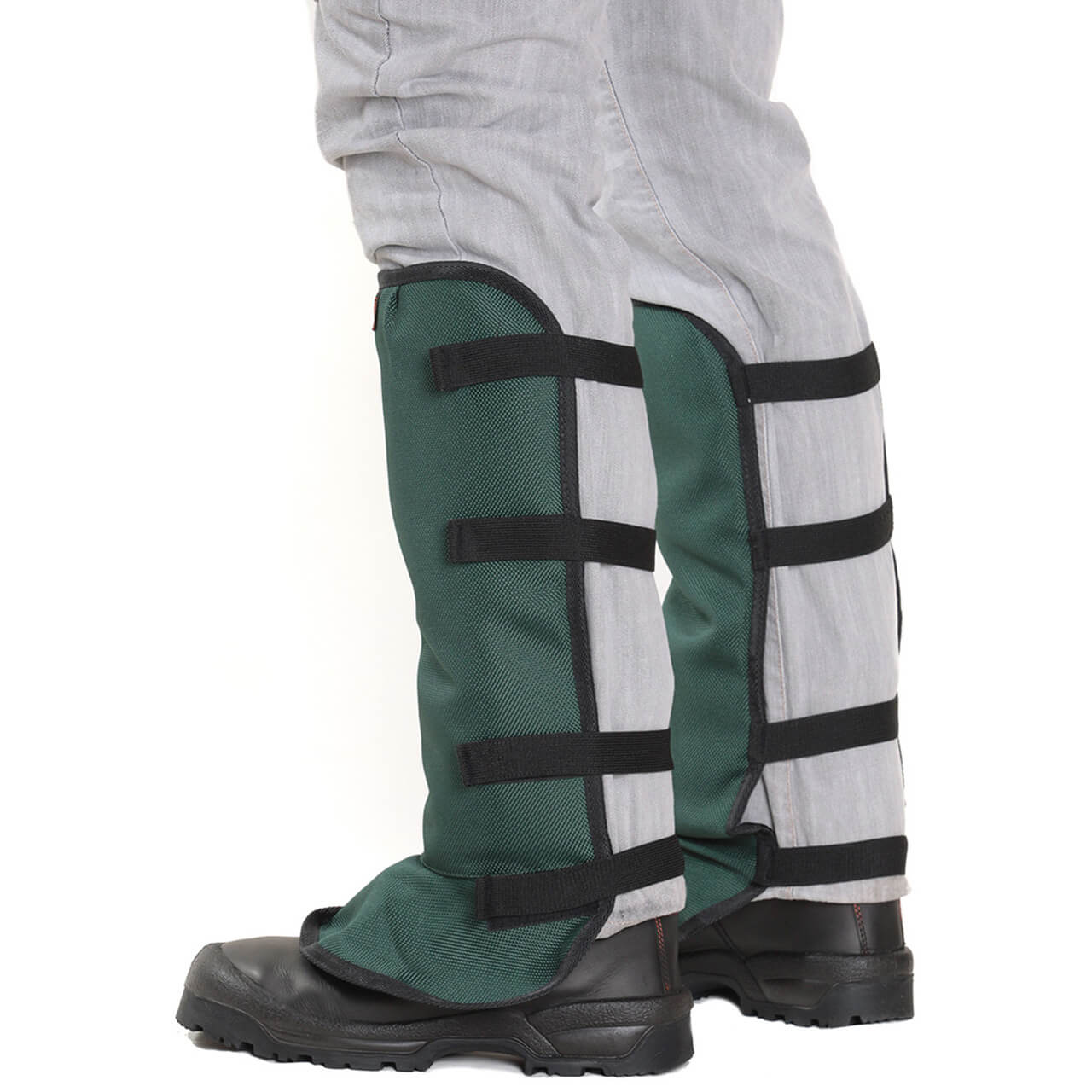 Clogger Brushcutting Chaps - Green Back