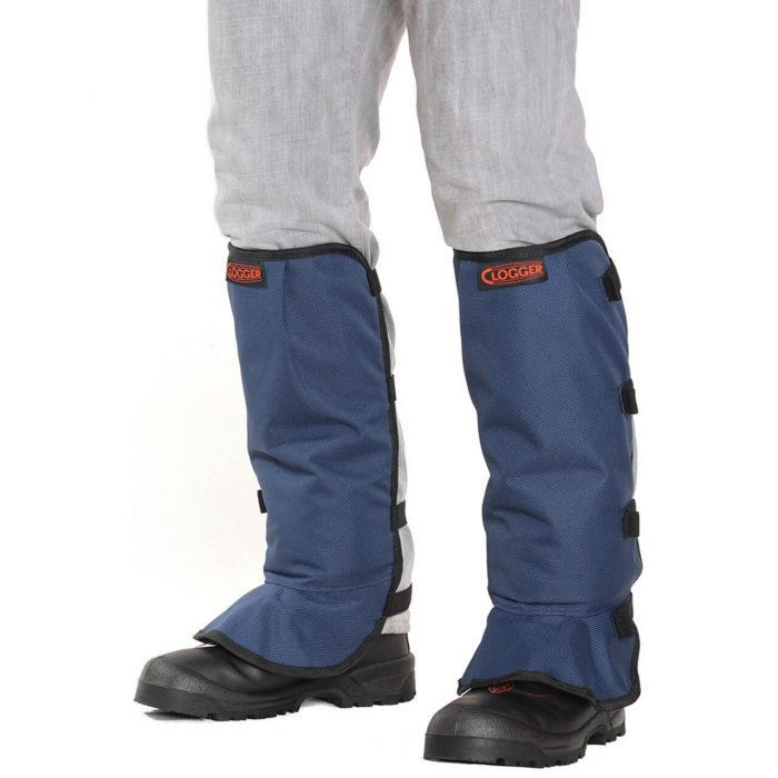 Clogger Brushcutting Chaps - Blue Front
