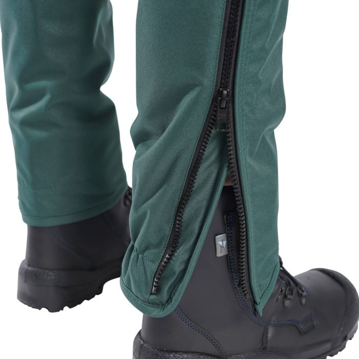 Clogger SnakeSafe Snake Gaiters Partially Opened Zip