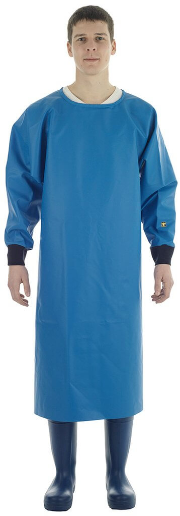 Guy Cotten Mantal Apron Blue - Model