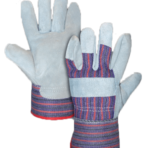 Candy Stripe Leather glove