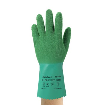 Ansell Green Gladiator Gloves - 2