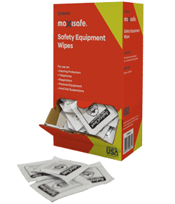 Maxisafe Anti-Fog Lens Cleaning wipes