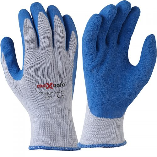 Blue Grippa | Blue Latex Gloves Pair