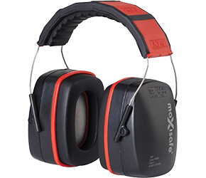 Maxisafe 3004 Red Earmuffs