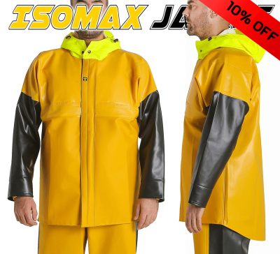Guy Cotten Isomax Jacket 10% off - Deal of the Month Feb 2021