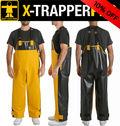 Guy Cotten X-Trapper Pro Bib & Braces Kit 10% off - Deal of the Month Feb 2021